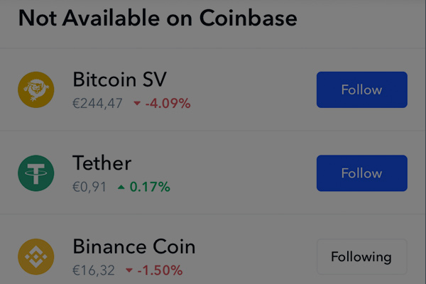 coinbase-unsupported-currencies
